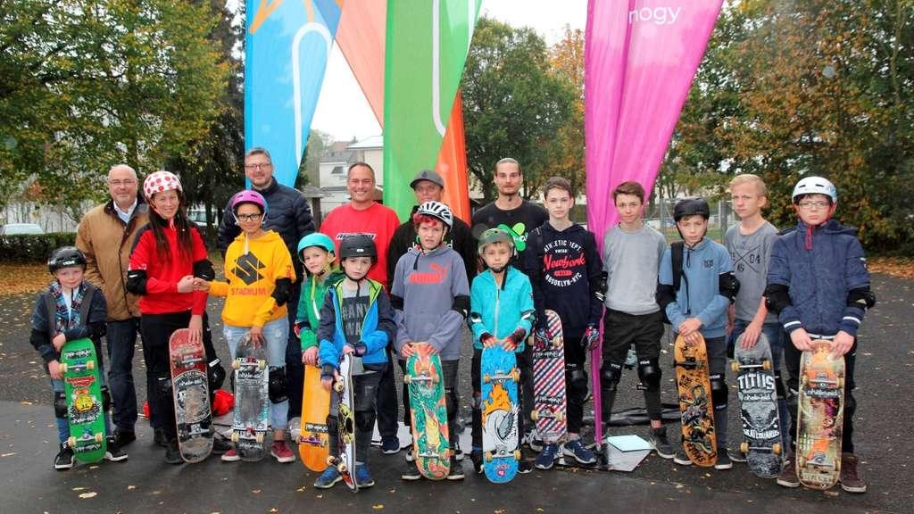 Die Skater in Belecke freuen sich.
